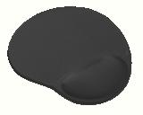 Trust Bigfoot Gel Mouse Pad - Black